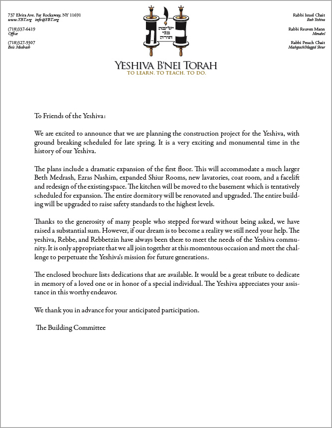 Ending A Letter Sincerely from www.ybt.org